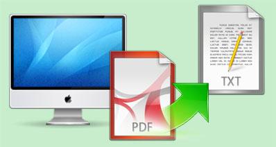 MacでPDFからテキストを抽出たい