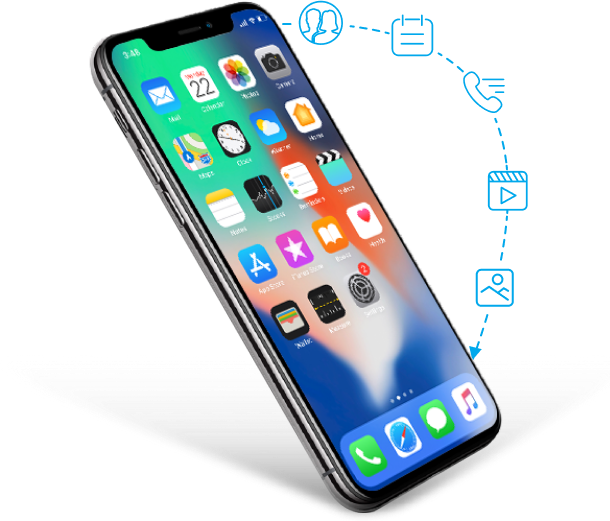 iphone data recovery supported data