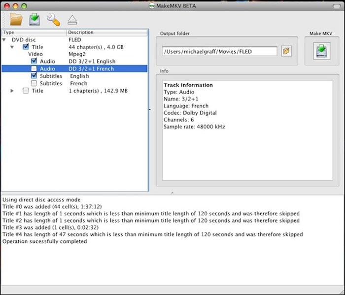 MacでDVDをコピーすることができます
