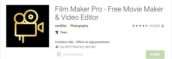 Fillmmaker Pro