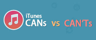 iTunes12.1に対する意見:iTunesの「CAN」VS「CAN'T」