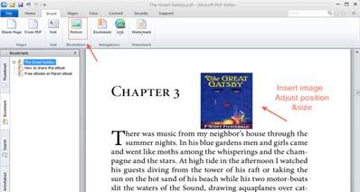 PDFファイルに画像を入れたり追加する方法