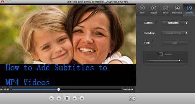 MP4動画に字幕をつける方法