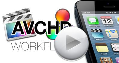 Mac上でのiPhoneをAVCHDに変換しよ!