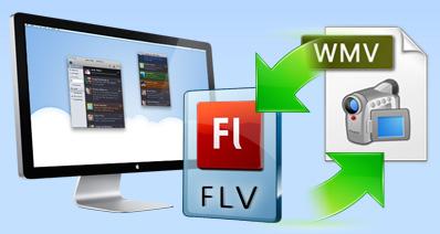 MacでFLVからWMVに(Windows でWMVからFLVに)変換する方法