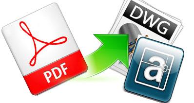 DXF、AutoCAD、DWGからPDFへも変換―PDFからDXFへ変換する方法