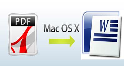 MacでPDFをWordに変換する無料方法
