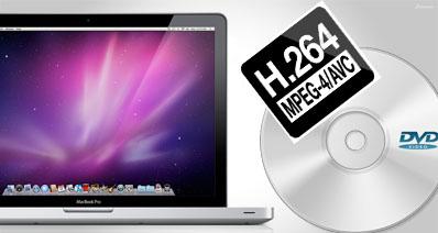 MacでDVDにH.264を焼く方法
