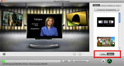 Mac上でDVDメニューを作成する方法
