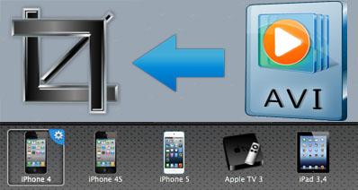 Mac上でAVIの動画をカットする方法