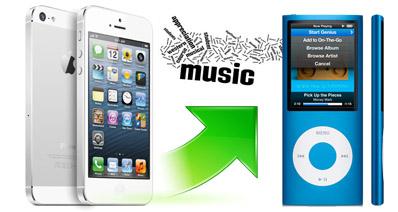 簡単にiPhone6からiPodに音楽を転送できる?!その方法とは