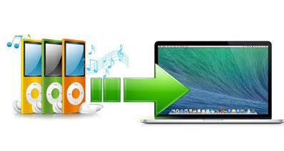 iPodからMacに曲を移す方法