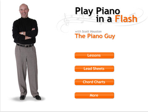 iPadピアノ