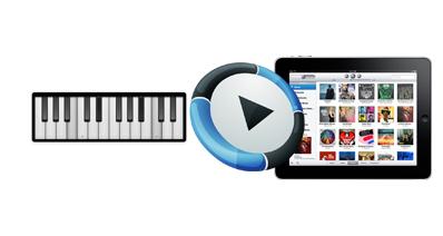 iPadでピアノを弾く方法