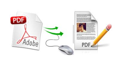 PDFを書き込み可能なファイルに変換!