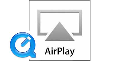 QuickTime AirPlay:QuickTimeをApple TVやiTunesにAirPlayする方法