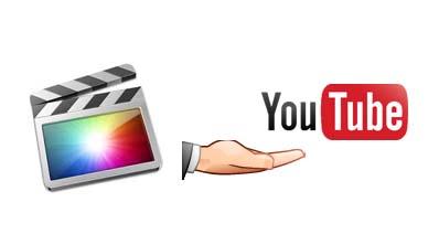 Final Cut Pro動画をYouTubeにシェアする方法