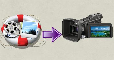 SONY(ソニー)のハンディカムビデオからDVDを作成する方法