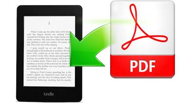 PDFをkindle(キンドル)優しいフォーマットに変換する方法