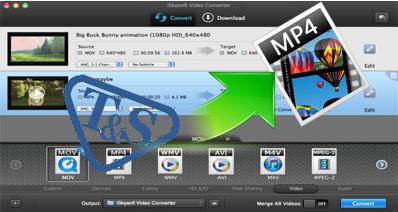 MacでTSファイルをHD MP4に変換する方法
