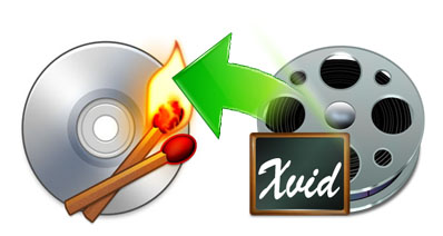 Mac OS XでXviD動画をDVDに焼く方法