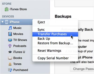 iPhone6/Plusからパソコン(Yosemite含む)へ音楽を転送する方法