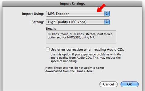 保護されていないiTunes12 MusicをMP3に変換する