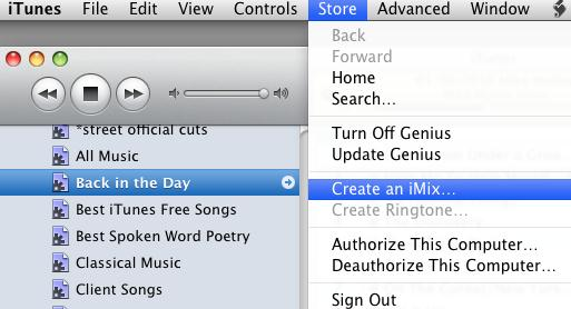 iMix for iTunes