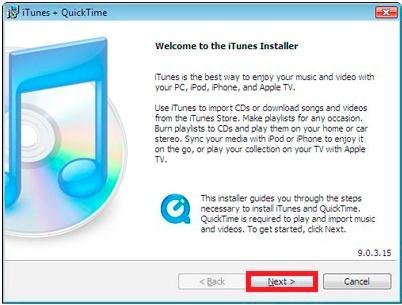 iTunes12に音楽を同期させる方法