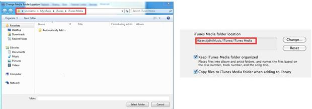 iTunes12ライブラリの再構築
