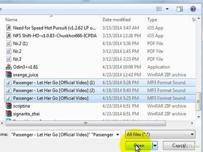 Windos Media PlayerからiTunes12へ音楽を転送する