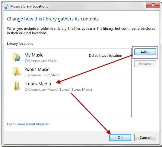 iTunes12からWindos Media Playerへ音楽を転送する