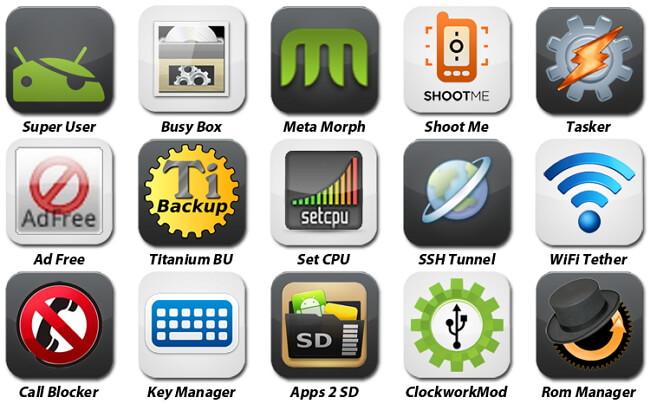 Android携帯をルート化する理由 phones