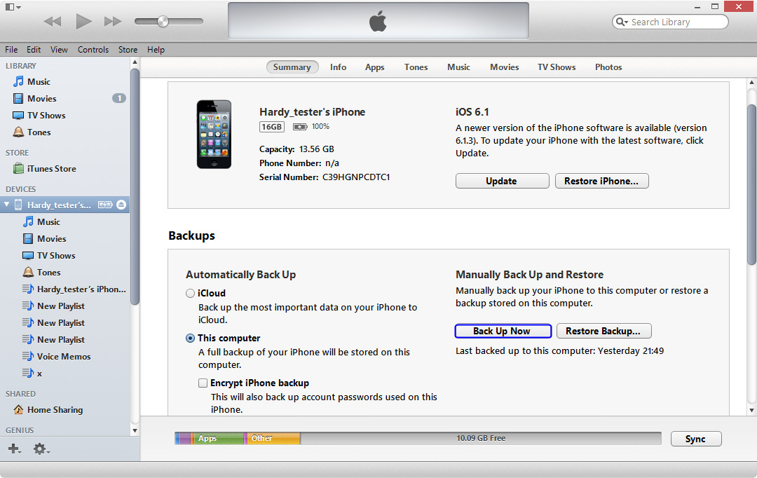 iPhoneの写真をバックアップ