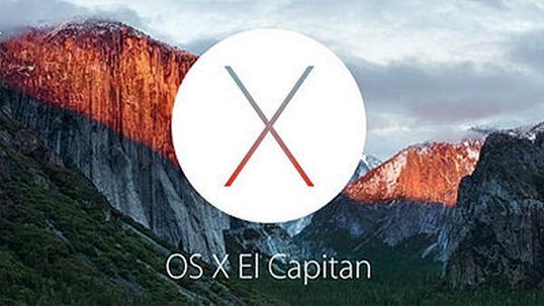 OS X El Capitan アップグレード