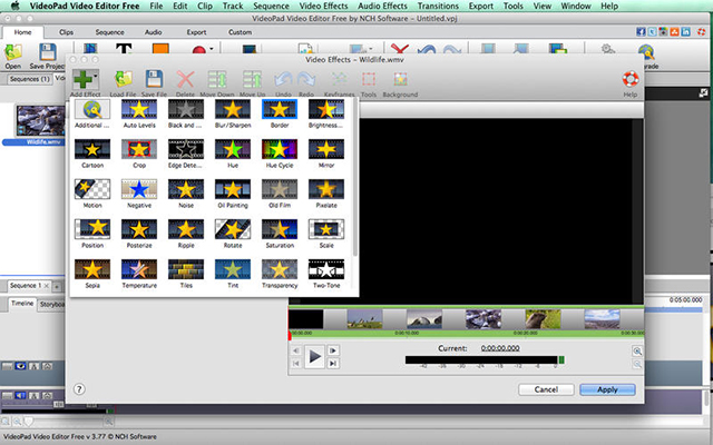 「VideoPad」