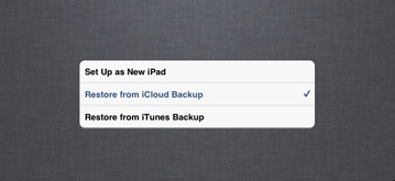 iOS 9からiOS 8へダウングレード