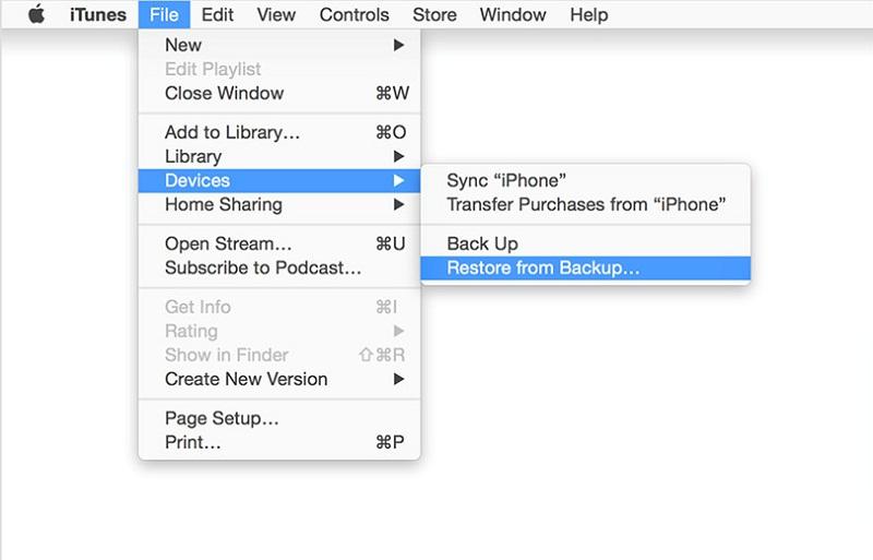 iTunesやiCloudバックアップからデータを復元