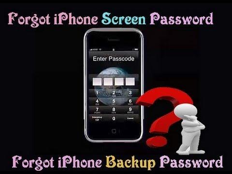 パスワードを忘れてしまったiPhone6