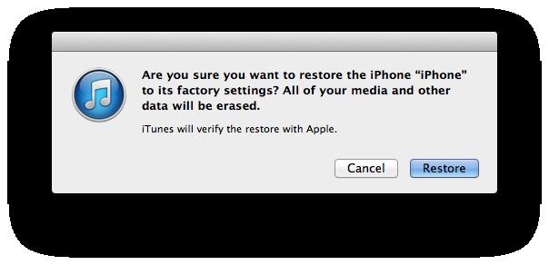 iPhone 6/Plusを初期設定に戻す