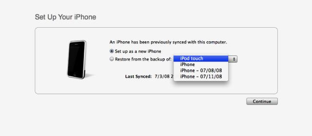 脱獄したiPhone 6/Plusの復元