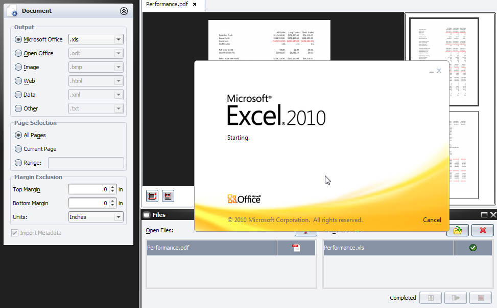 pdf to excel software mac