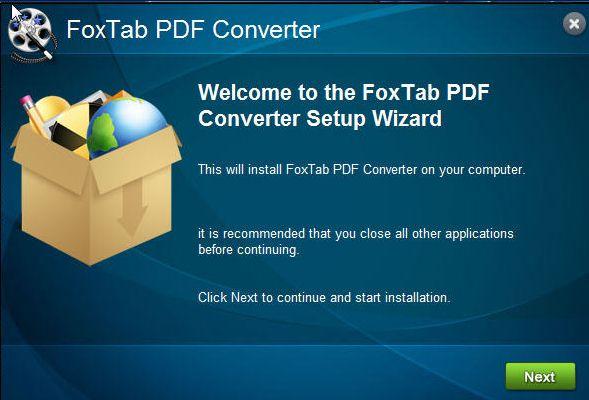 FoxTab PDFコンバータ