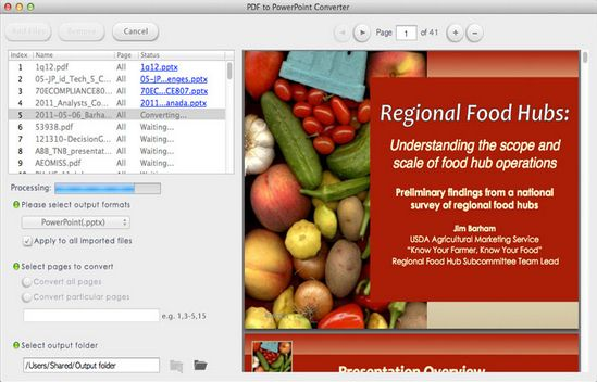 Lighten Software PDF to PowerPoint for Mac