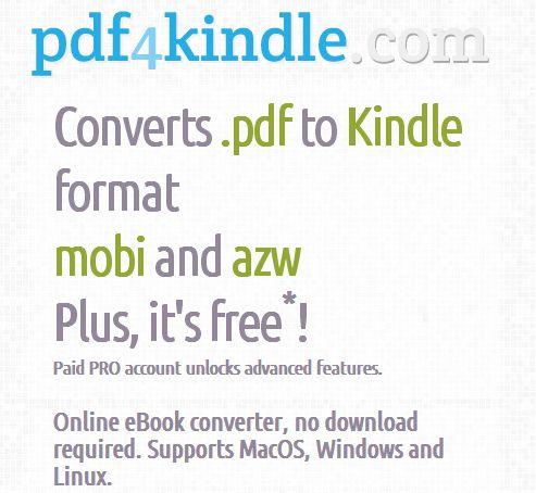 pdf4kindle