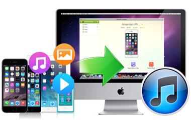 Mac/iTunesへの音楽転送