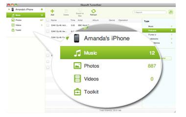 iデバイスのファイル管理