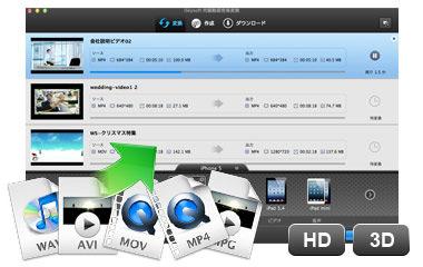 DVDをMacのiMovieに取り込むアプリ