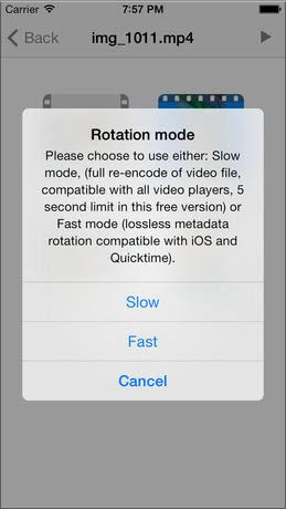 Video Rotate Free