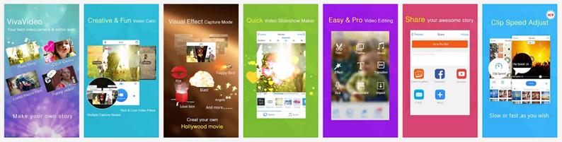 Android動画回転アプリ vivavideo